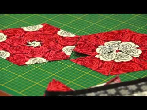 patchwork – blocco esagonale
