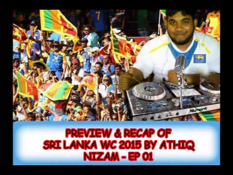 Sri Lankan 2015 World Cup song