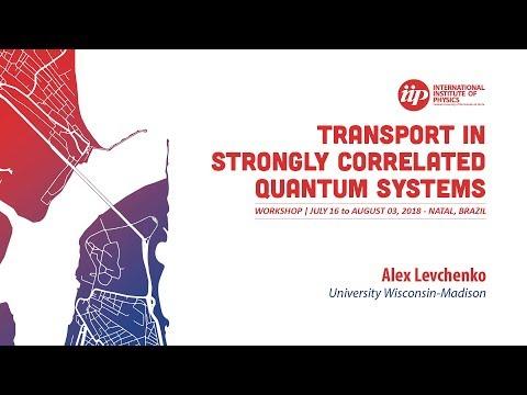 Hydrodynamic flows of non-Fermi liquids: Magnetotransport and bilayer drag - Alex Levchenko