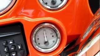 6. 2012 Harley Davidson FLHX Street Glide 103ci Tequila Sunrise / HD Orange $17900