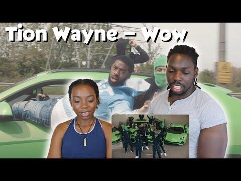 Tion Wayne - Wow [Music Video]   GRM Daily - REACTION