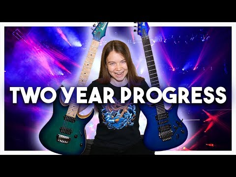 Two Years Playing the Electric Guitar – Month by Month Progress