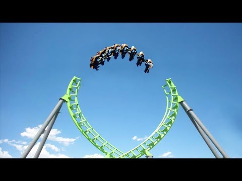 Top 5 Dangerous And Unique Amusement Rides Around The World In Urdu/Hindi (Part 2) .