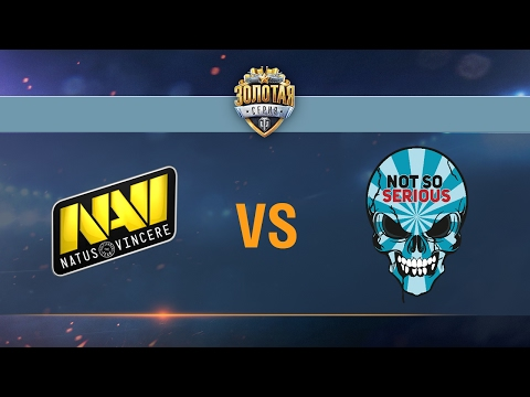 Natus Vincere G2A vs Not So Serious - day 3 week 4 Season II Gold Series WGL RU 2016/17