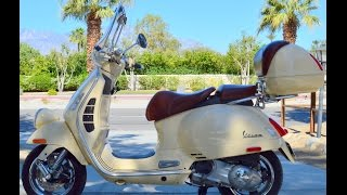8. 2010 Vespa GTV 250 For Sale www.samscycle.net