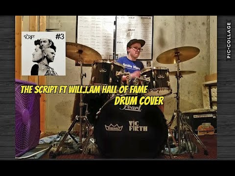 The Script Ft Will.I.am Hall Of Fame  (Drum Cover)