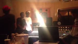 Earl Sweatshirt, Tyler, The Creator, Frank Ocean, And Pharrell In The Studio