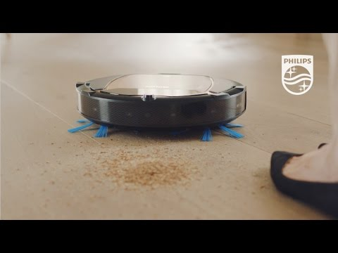Introduction to the Philips SmartPro Active robot vaccum cleaner