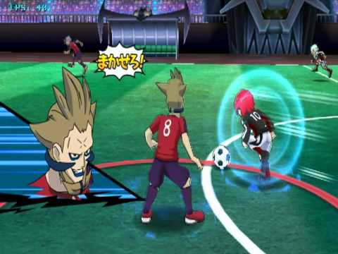 Inazuma Eleven Strikers - My team Vs the Orge