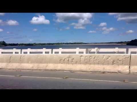 Ponte sobre o o rio doce em Linhares ES