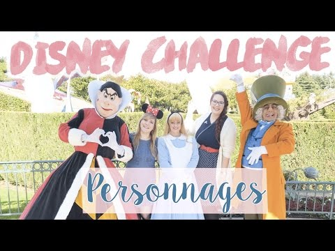 DISNEY CHALLENGE : Le max de PHOTO avec des PERSONNAGES de Disneyland Paris !
