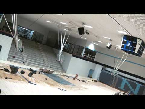 Northwood University - Bennett Center's Riepma Arena Construction Timelapse - 2015