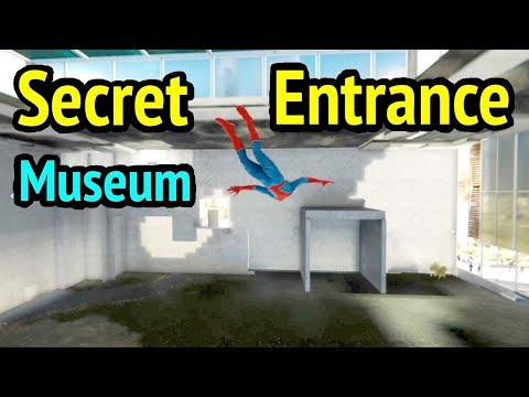 Spider-Man PS4: Inside Museum (Out of Bounds and Under Map Glitch) - Marvel's Spider-Man