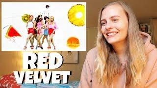 Red Velvet (레드벨벳) Red Flavor (빨간 맛) MV REACTION