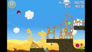 Angry Birds Seasons Summer Pignic Level 6 Walkthrough 3 Star
