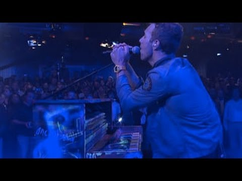 Coldplay - Clocks (Live on Letterman)