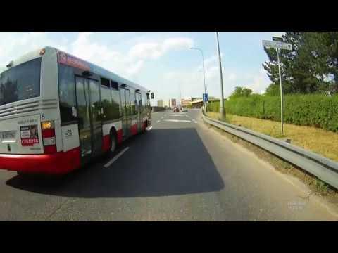 Nehoda BUS vs. Auto / Crash BUS vs. Car