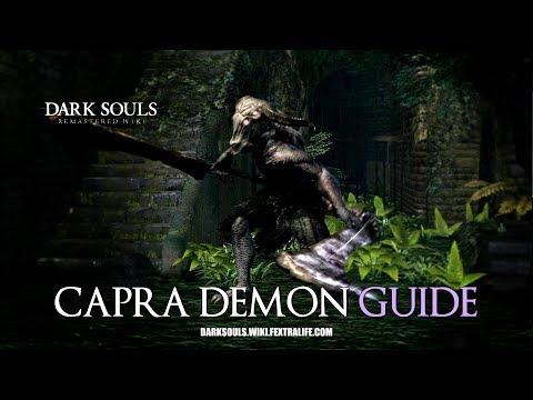 Capra Demon Boss Guide - Dark Souls Remastered