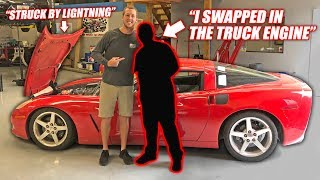 Video We Found the Auction Corvette's Previous Owner... The Story is INSANE! MP3, 3GP, MP4, WEBM, AVI, FLV September 2019