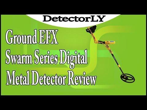 Ground EFX Swarm Series Digital Metal Detector Review