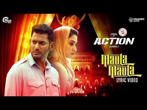 Action | Maula Maula Lyric Video