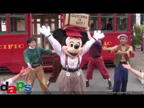 Red Car News Boys First Performance - Disney California Adventure - Disneyland Resort