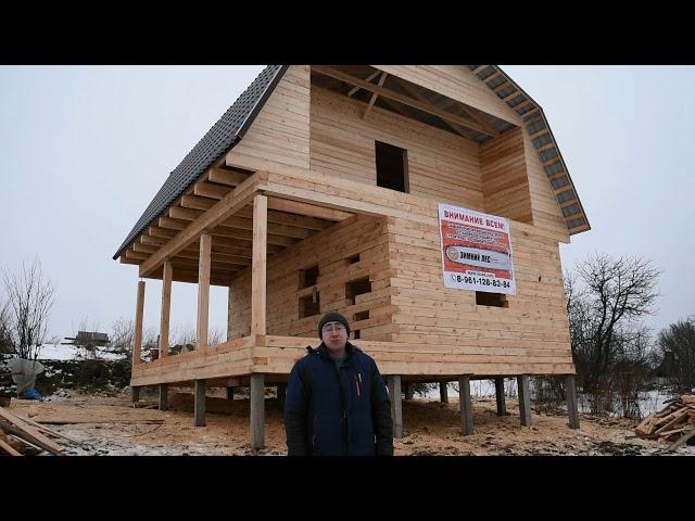 Отзыв о строительстве бани Ярославская область город Ростов