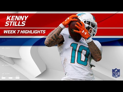 Video: Kenny Stills Scores 2 TDs Against New York!   Jets vs. Dolphins   Wk 7 Player Highlights
