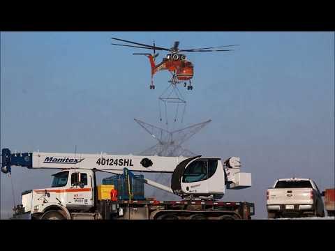 Erickson S-64 Skycrane N163AC building...