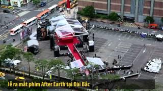 After Earth - Trở về Trái Đất - Sự kiện ra mắt phim toàn cầu cùng Kathy Uyên và cha con nhà Smith