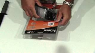 Cobra CPI 480 400-Watt 12-Volt DC to 120-Volt AC Power Inverter with 5-Volt USB Output Unboxing