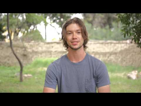 Video of Zach on volunteer work with amphibians in Sustainable Bolivia
