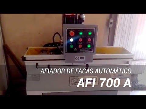 Afiador de facas e lâminas industrial Lippel AFI 700 A