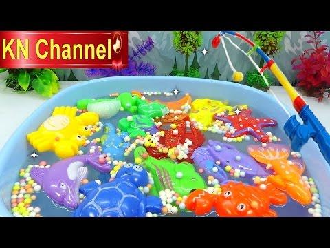 Đồ chơi trẻ em Bé Na Câu Cá tập 8 mùa hè vui nhộn Kỹ năng sống Fishing toy playset Kids toys - Thời lượng: 11:16.