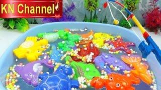 KN Channel có đồ chơi trẻ em cần câu cá, Mùa hè mà đi câu cá thì còn gì bằng. Bé Na xách cần câu lên và đi thôi. ☆Hãy đăng ký...