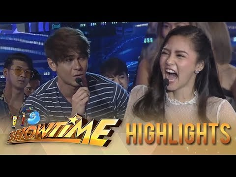 It's Showtime: Kim Chiu answers Luke's joke