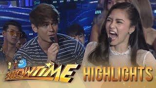 Video It's Showtime: Kim Chiu answers Luke's joke MP3, 3GP, MP4, WEBM, AVI, FLV Oktober 2018