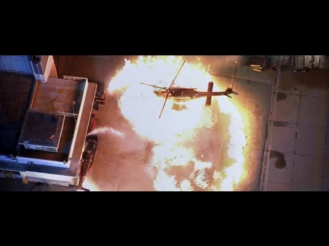 Cradle 2 the Grave (2003) - Airport Hanger Shootout / Fight Scene [HD]