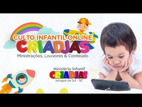 Culto Infantil Online - 25/07/2020