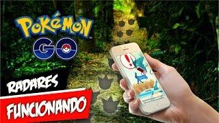 Rastreadores Funcionando Pokémon GO by Pokémon GO Gameplay