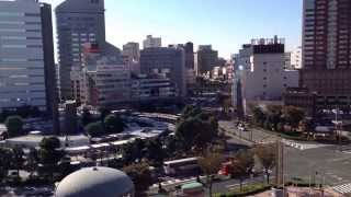 Shizuoka Japan  city photos gallery : Hamamatsu station - Shizuoka - Japan. 2014 March 26