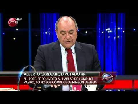 Alberto Cardemil en Tolerancia Cero