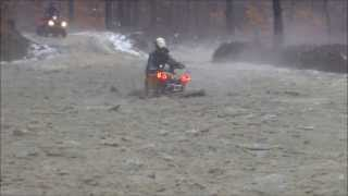 8. Can Am Renegade breaking an axle with 27 Mega Mayhems