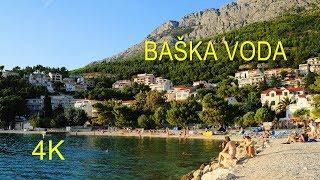 Baska Voda Croatia  city photo : Baška Voda Beach, Croatia (4K Ultra HD)