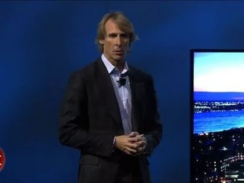 Michael Bay quits Samsung's press conference
