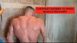 Marc Lobliner takes a hot and cold contrast shower to increase muscle recovery.Read the Article Here! https://content.tigerfitness.com/how-to-speed-up-muscle-recovery/Support Marc and Shop at http://www.tigerfitness.comSubscribe to this channel now! http://youtube.com/tigerfitness Related Videos:Why You Need a REGEN Day Every Week: https://www.youtube.com/watch?v=U7E6OdsyXIs4x Mr. Olympia Phil Heath and Pro Bodybuilder Marc Lobliner RICE is Dead  Injury and Daily Recovery Tips: https://www.youtube.com/watch?v=qy0Y3FzGihU&t=7sPhil Heath on the Benefits of Massage For GAINZ and Recovery THREE WEEKS OUT From Mr. Olympia: https://www.youtube.com/watch?v=7gYUyUqCvFM&t=2sFacebook: http://www.facebook.com/tigerfitness and http://www.facebook.com/tigerfitnessonlineTwitter: https://twitter.com/MarcLobliner and https://twitter.com/tigerfitnesscomInstagram: https://www.instagram.com/marclobliner/ and https://www.instagram.com/tigerfitness/ I am Marc Lobliner, CEO of MTS Nutrition. MTS Nutrition is more than just a supplement line to me. It's my story. It has a meaning and a purpose. Each MTS Nutrition product embodies my passion for health and fitness, and echoes the struggles of my past and the lives that my products help to change on a daily basis.  Business Inquiries: Email marc@mtsnutrition.com