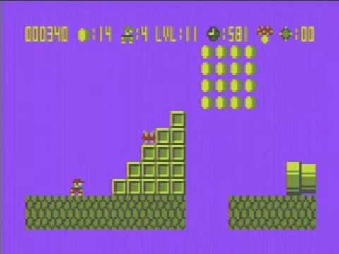 Weird SMB clone for the Atari 8-bit Computers