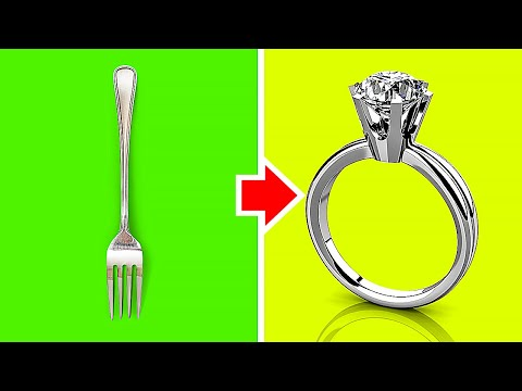 TOTALLY AWESOME FORK HACKS    5-Minute Decor Crafts From Forks And Spoons!