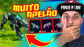 Roubado! Novo Pet Pantera Negra no Free Fire! by Pokémon GO Gameplay