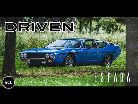 (HD) SCC: Lamborghini Espada 1972 – Test drive in top gear – Probefahrt – GoPro